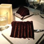 large dessert, enough for 4