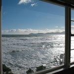 Kapiti Island from Guest Lounge
