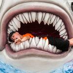 Shark Got A Hold of Son