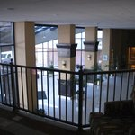 View of the lobby from the 2nd floor