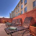 Outside Pool Lounge