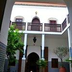 Bottom level courtyard