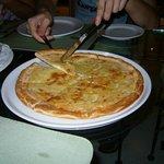 Italian pizza for dinner