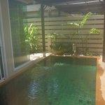 Private plunge pool for Spa Villa
