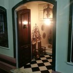 Detalle del portal de la casa malagueña