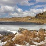 Lac gelé dans le Snowdonia Parc