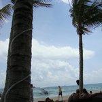 Mosquito Beach - clube de praia com convênio fica a diversas quadras de distância