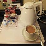 Coffee and tea making facilities.