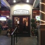 entry to Papa Joe's in Cape Coral