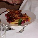 Roast duckling