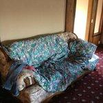 uno dei letti era questo divano