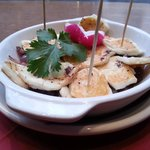 Grilled Halloumi & Red Onion at Caffe Alma, King Street, Margate