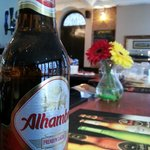 Spanish Lager at Caffe Alma, King Street, Margate