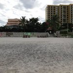 quiet hotel beach
