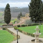 View from the Villa to the west (San Gimignano)