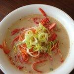 soupe de nouilles de riz au lait de coco