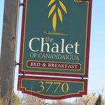 Chalet Sign