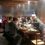 Raclette night at Chalet Montperron