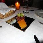Tuna Tartar appetizer-amazing presentation!