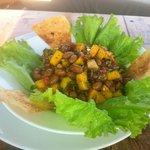 Mango & Bean Salad