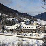 Hotel Lek winter panorama