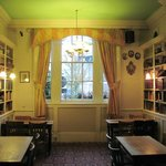 "the ""reading room"" - part of the bar/dining/breakfast area"