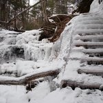 Frozen steps