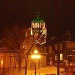 Vieux-Québec la nuit.