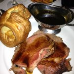Perfect rib of beef