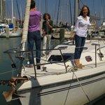 38 footer ... 2006 cabin sailboat!