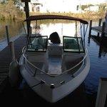 my boat @ marina