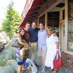 The family dining at Montalcino's