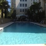 Hilton Garden Inn pool - taken at about 1pm