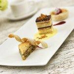 Trio of Signature Desserts