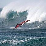 Windsurfing off the North shore Majanicho near Lajares