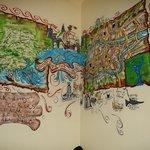 Common room wall