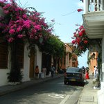 Walking in the midst or within the walls of Cartagena, Colomibia