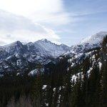 Longs Peak near the hotel