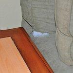 Sofa needing repairs