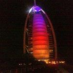 esterno Burj al Arab