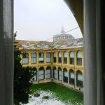 View towards Santa Maria delle Grazie