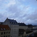 View to Amalienborg Palace from 4th floor room