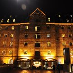 Admiral Hotel at night
