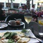 the ravioli on the patio