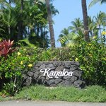Entrance to resort and this is only the beginning of a beautiful flowery experience.