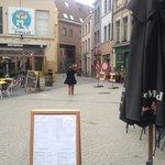 restaurant and bars outside