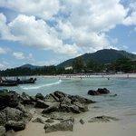 10 minute walk beach