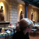 Breakfast area of Hotel Alba