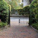Back gate