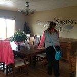 Dining room in Granite Springs Lodge